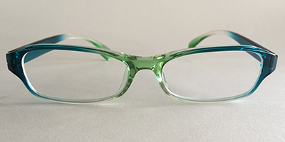 crystal frames front view